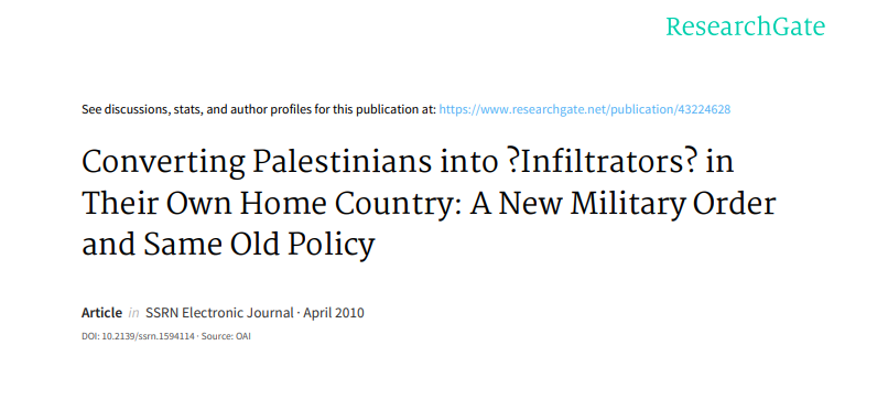 converting-palestinians-into-infiltrators