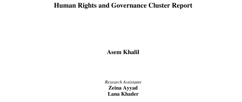 human-rights-and-governance-cluster-report