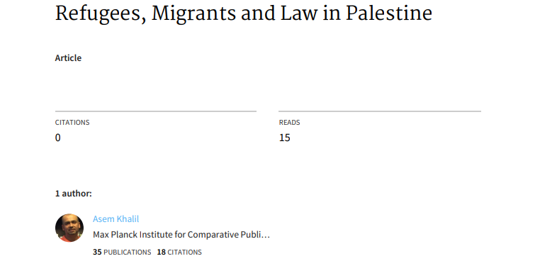 refugees-migrants-and-law-in-palestine
