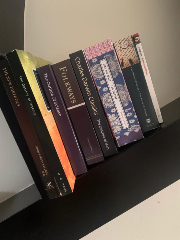 Durant list of books